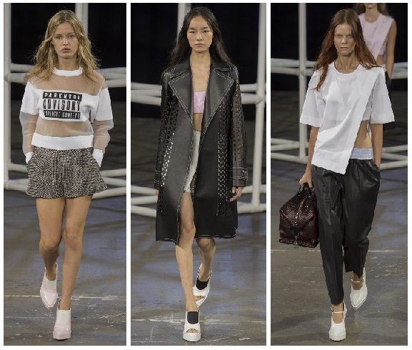 Alexander Wang Spring 2014 Collection New York Fashion Week