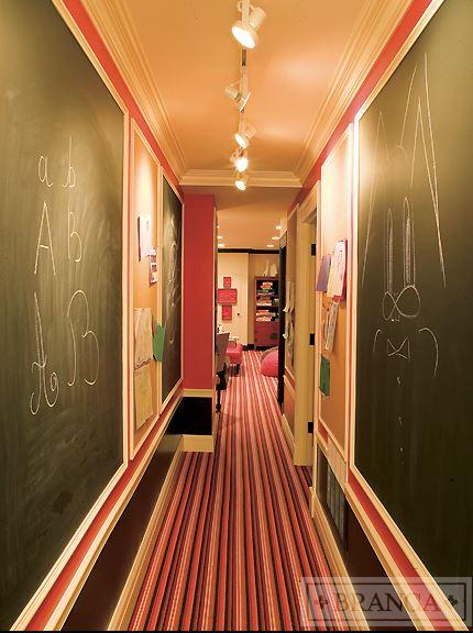 Alessandra Branca  Chicago Penthouse Hallway