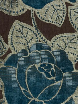 Clarke & Clarke Fabric - Crescendo - Peacock