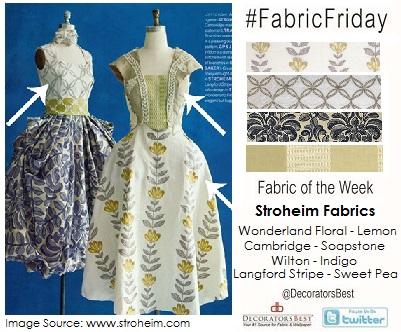 stroheim fabric friday of the week interior design decor trends decoratorsbest fabric fashion week