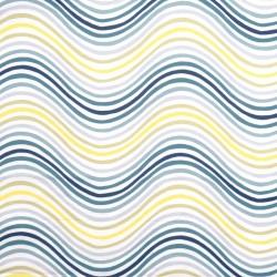 S. Harris Fabric - Funhouse - Aqua