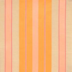 S. Harris Fabric - Glow Stripe - Flamingo