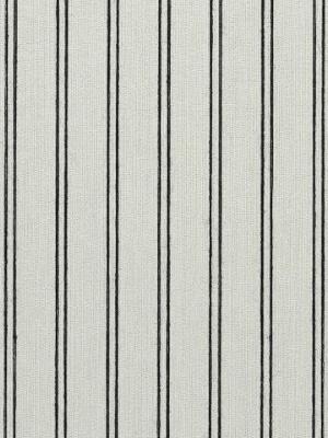Ralph Lauren Wallpaper - Ascot Stripe - Jet LWP60702W