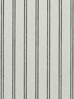 Ralph Lauren Wallpaper - Ascot Stripe - Jet LWP60702W