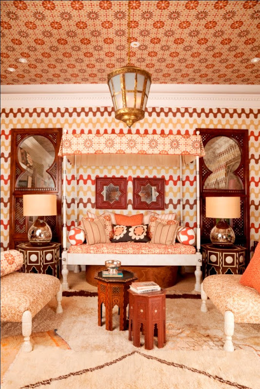 martyn lawrence bullard wallpaper wednesday trends earth tones inspired by fashion week interior home decor trends