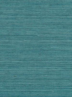 Phillip Jeffries Wallpaper - Manila Hemp - Turquoise PJ 5276