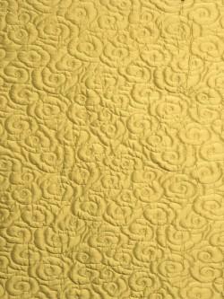 S. Harris Fabric - Silk Clouds - Sun