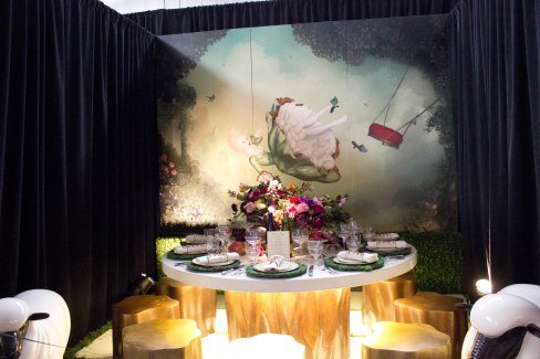 Robert Kuo Table at DIFFA 2013
