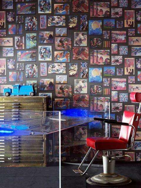 interior decor trends andrew martin conversational wallpaper interiro decor trends