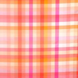 Isaac Mizrahi for S. Harris Fabric - Spectrum Plaid - Coral Rose