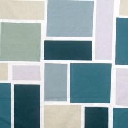 S. Harris Fabric - Supergrafik - Aqua
