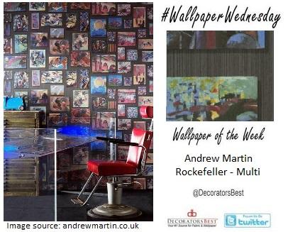 andrew martin wallpaper conversational wallpaper interior trends decor mancave