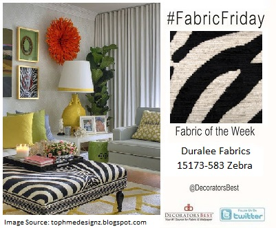 duralee fabrics zebra animal prints 15773-583