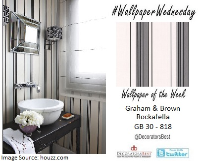 graham & brown isabella lopez powder room interior decor designs wallpaper trends of the week favourite designs