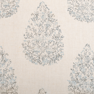 Duralee Fabric - 21040-680 Aqua Cocoa