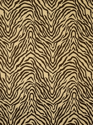 Fabricut Fabric - Celebrity Zebra - Chocolate 3551701