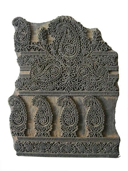 Woodblock, India, c. 1900