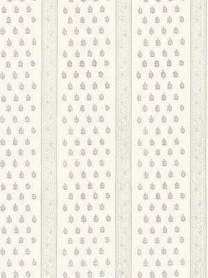 Schumacher Wallpaper - Katsura Stripe - Oyster 5005200