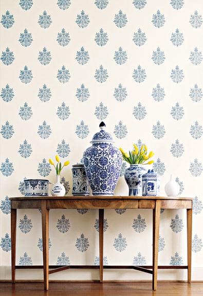 interior decor trends design wallpaper decor hallway jaipur handblocked wallpaper