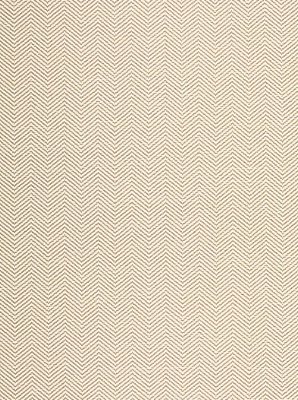 Schumacher Wallpaper - Pearce Herringbone - Bone 5006170
