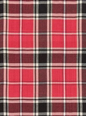 Schumacher Fabric - Alexander Tartan - Rouge 68320
