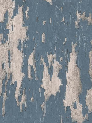 Andrew Martin Wallpaper - Crackle - Blue