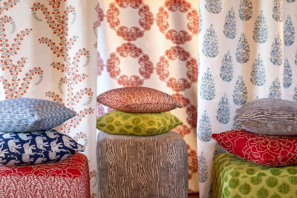 Duralee Designer John Robshaw Hand Block Print Fabric