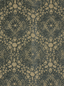 Beacon Hill Fabric - Floral Web - Golden Teal