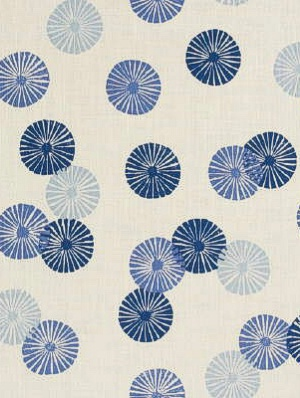 Groundworks Fabric - Kasa - Blue  GWF-3002-40