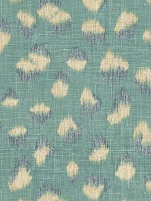 Groundworks Fabric - Feline - Lake/Slate GWF-3106-313