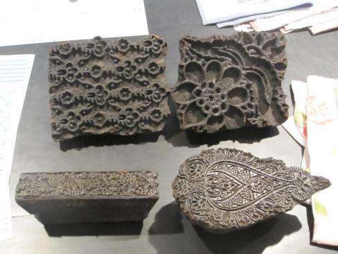John Robshaw Hand Print Blocks