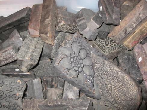 Block Printing - Handmade Blocks Stones John Robshaw