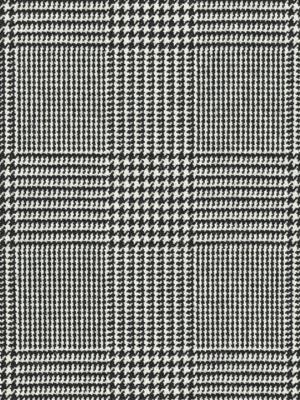 Ralph Lauren Fabric - WESSEX GLEN PLAID - BLACK/WHITE LFY66027F