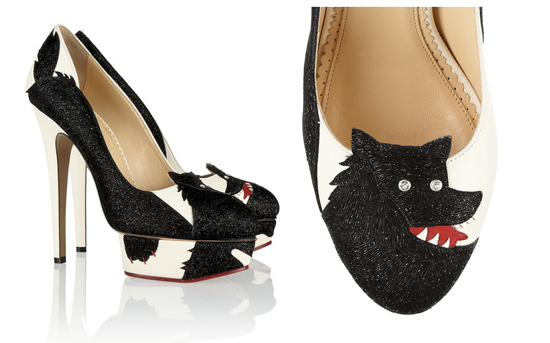 Charlotte Olympia She Wolf Pumps - Haute Halloween Accessories