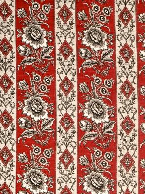 Vervain Fabric - Elysee On Linen - Valentine 0561903
