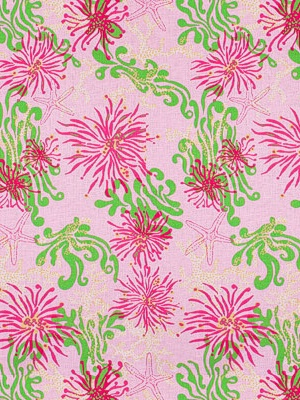 Lee Jofa Fabric - Bimini Lilly - Pink 2011100-717