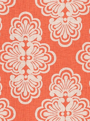 Lee Jofa Fabric - Shell We - Keen Peach2011104-44