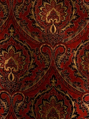 Fabricut Fabric - Aura - Ruby 3396903