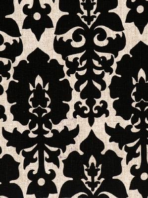 Fabricut Fabric - Ross River - Ebony 3425401