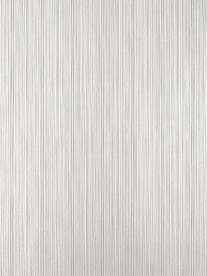 Schumacher Wallpaper - Somerset Strie - Silver 5004240