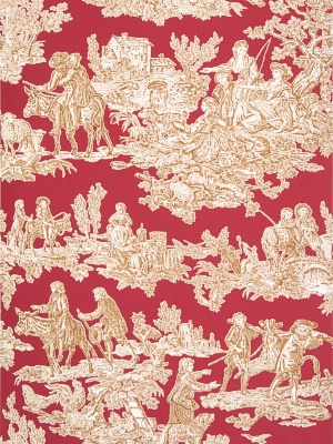 Stroheim & Romann Wallpaper - La Mistral II - Cherry 2684E-S03506041602