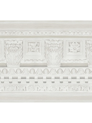 Cole & Son Wallpaper Border - Georgian Border - White 98_11049_CS