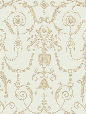 Cole & Son Wallpaper - Regalia - Olive & Gold 98_12053_CS