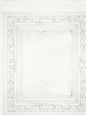 Cole & Son Wallpaper - Clock Court - White 98_3013_CS