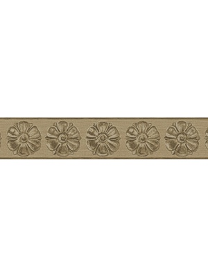 Cole & Son Wallpaper Border - Tudor Rose - Gold 98_4015_CS