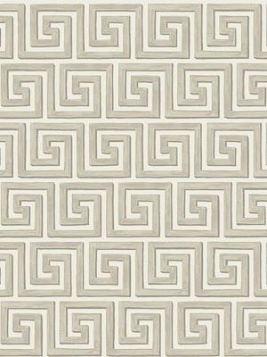 Cole & Son Wallpaper - Queens Key - Stone 98_5017_CS