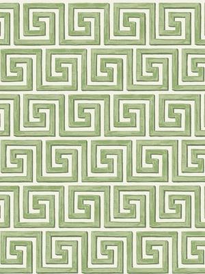 Cole & Son Wallpaper - Queens Key - Green 98_5019_CS