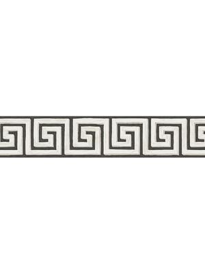 Cole & Son Wallpaper - Queens Key Brd - Black/White 98_9039_CS