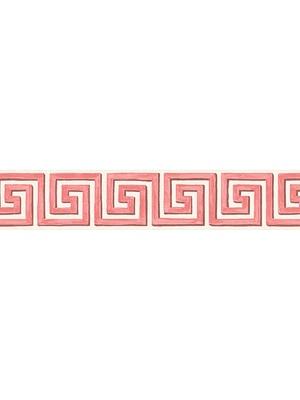 Cole & Son Wallpaper - Queens Key Bird - Pink/White 98/9041