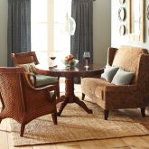 Unconventional Seating Club Chairs Dining Room Decor